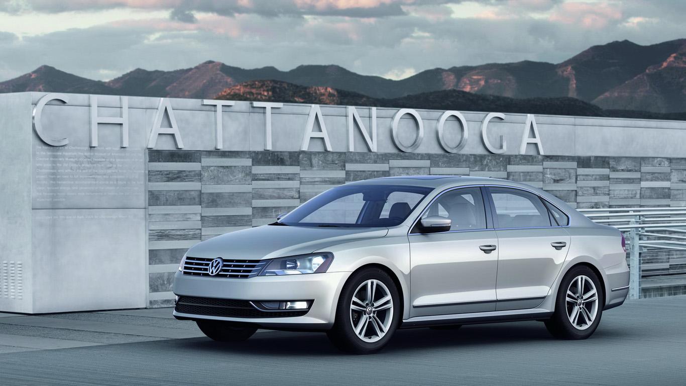 Фото салона американского VW Passat …