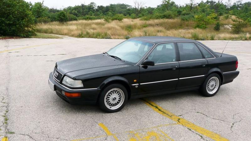 Audi V8 3.6 (1989) menetpróba - Reszkessetek c6d8f5cc07