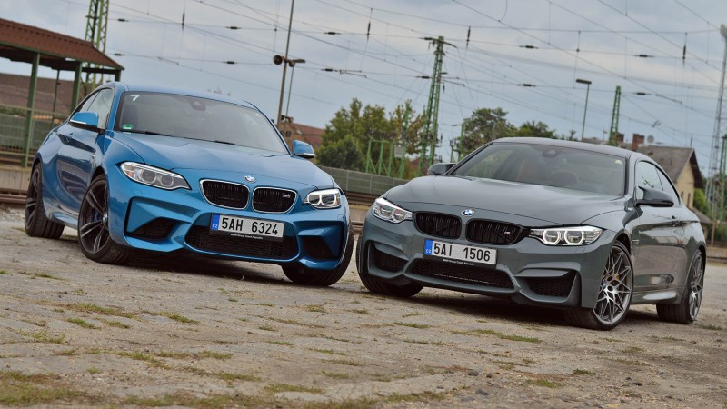 BMW M4 Coupé Competition vs. BMW M2 Coupé teszt - Szerelem, szeretet