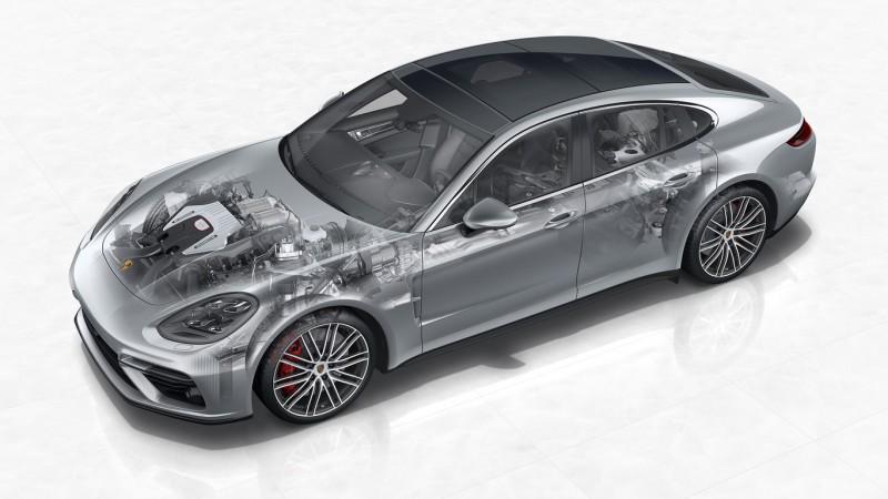 Mágneses csillapítással finomodna a Porsche Panamera